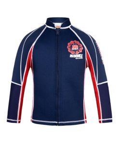 寶藍色1.5mm長袖防曬上衣保暖